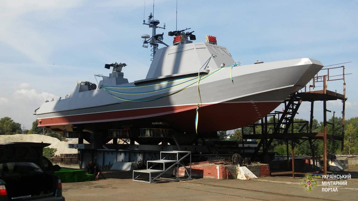 Вскоре на вооружение ВМС поступят два современных катера «Кентавр» / mil.in.ua