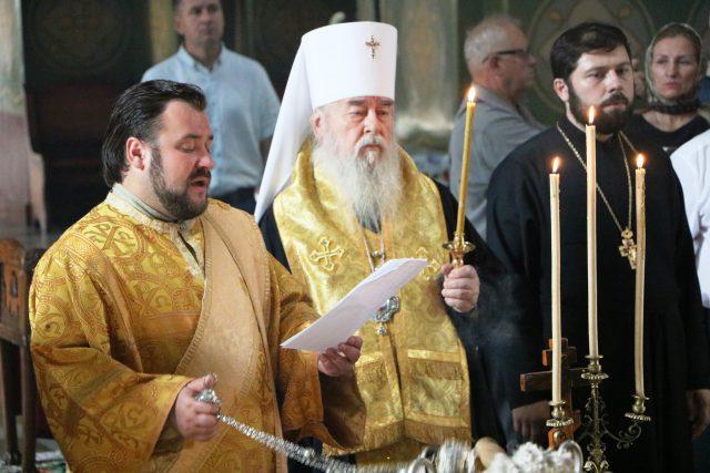 Панахида запомерлими за роки незалежності України журналістами / eparhia.dp.ua