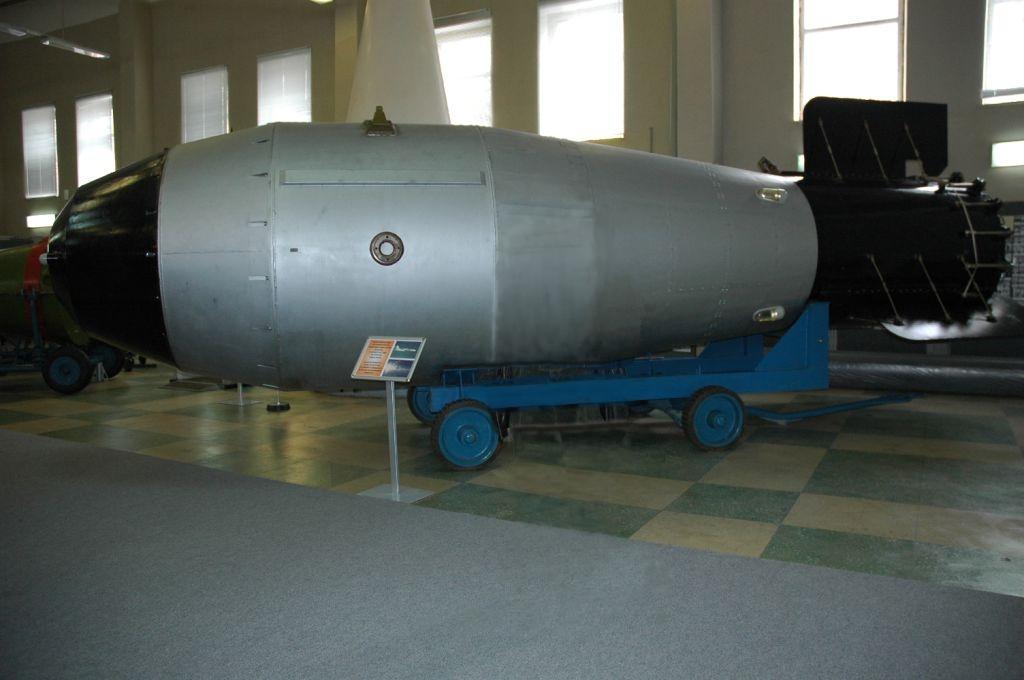 """Якби у Росії лишилася бомба """"Іван"""", вона б не змогла її застосувати / wikipedia.org"""