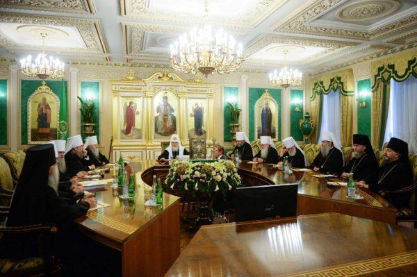 Синод РПЦ / patriarchia.ru