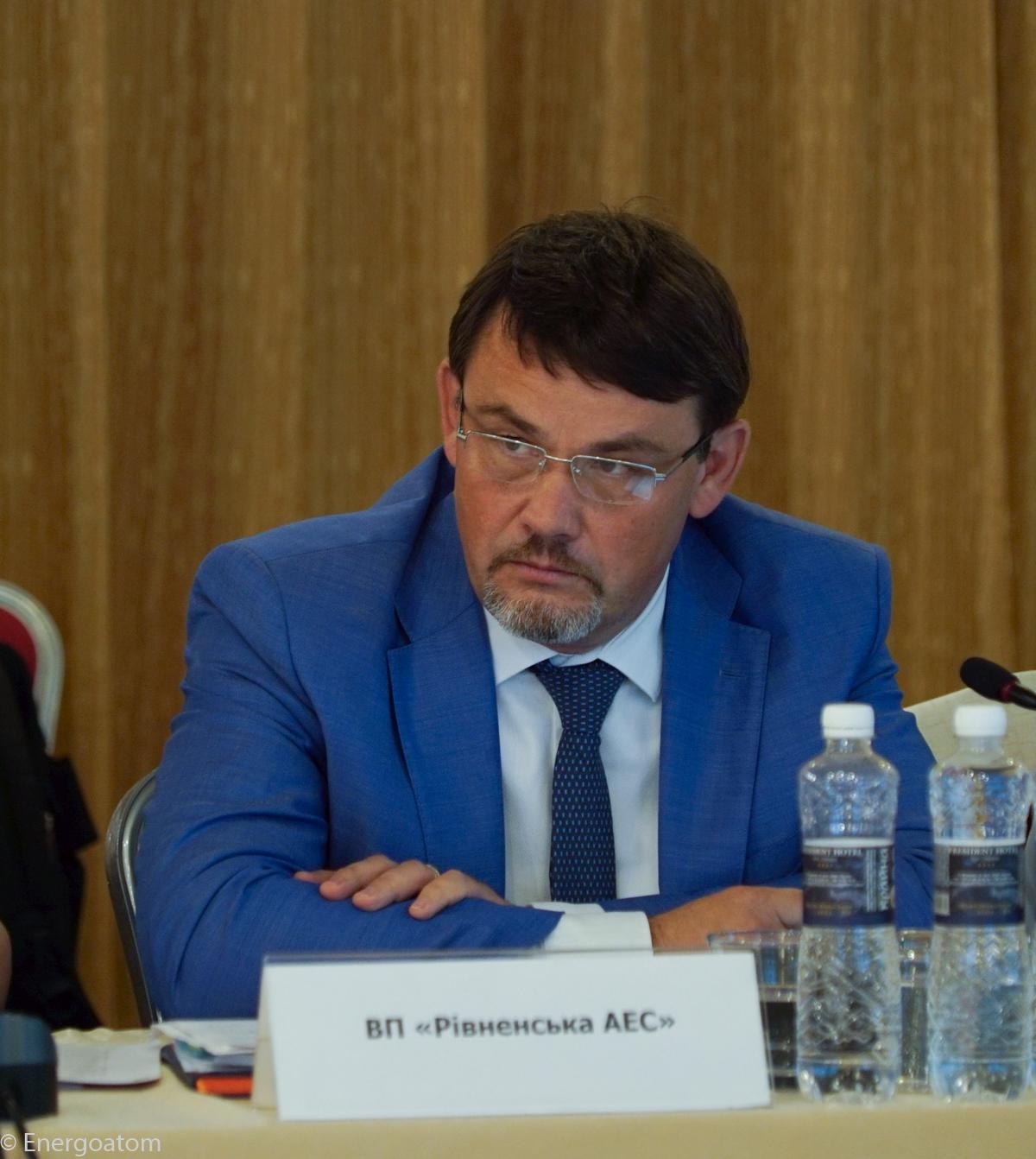 Директор Рівненської АЕС Павло Павлишин