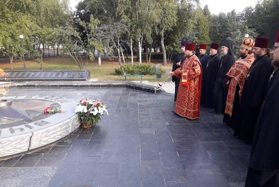 В Нежине помолились о погибших воинах-освободителях города / orthodox.cn.ua