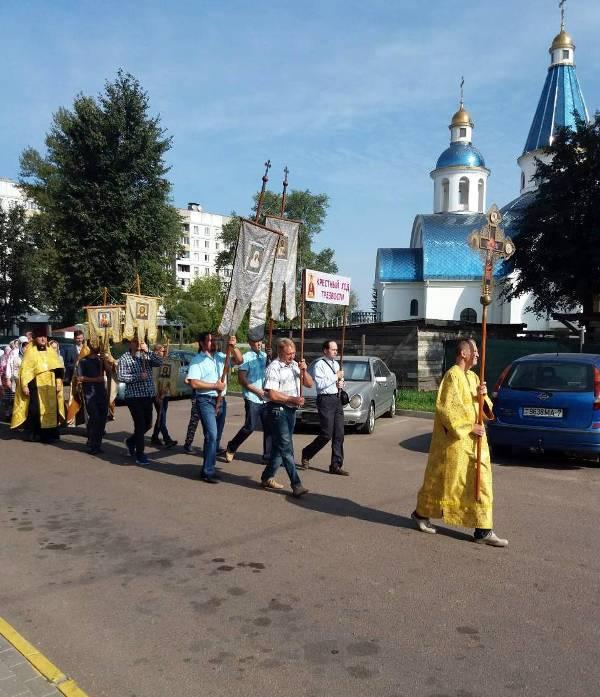 В Минске прошел крестный ход к церковному Дню трезвости / church.by