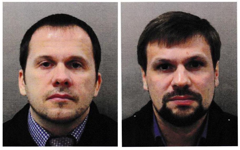 Олександр Петров і Руслан Боширов / REUTERS