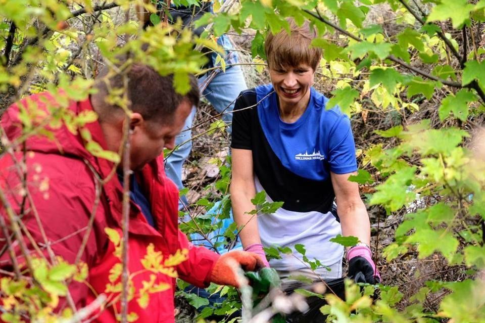Президент Эстонии призвала беречь окружающую срнеду \ Facebook Керсти Кальюлайд