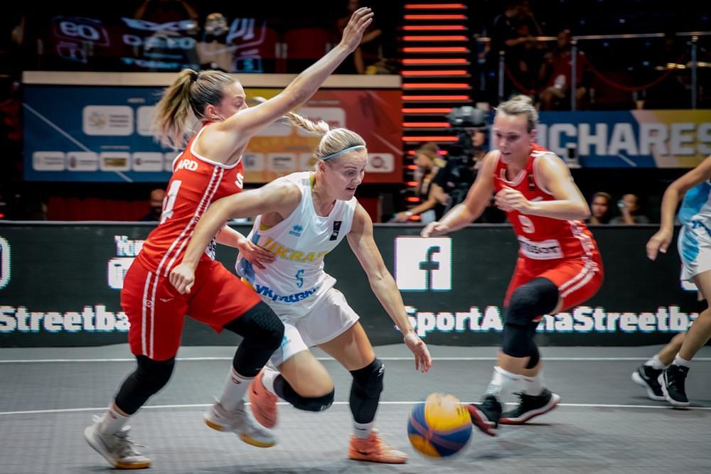 Укроаинские баскетболістки впевнено обіграли команду Швейцарії / fiba.basketball