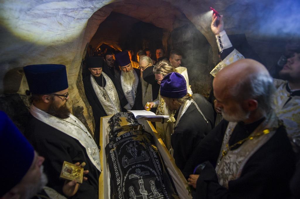 УПсково-Печерському монастирі попрощалися з колишнім намісником архімандритом Тихоном / monasterium.ru
