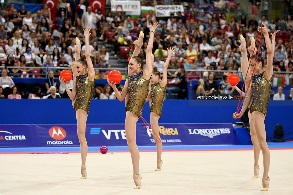 Сборная Украины по художественной гимнастике / ukraine-rg.com.ua