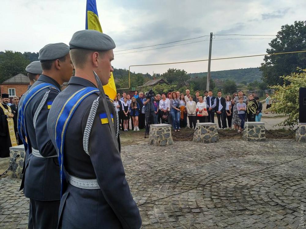 ВОдесской области открыли мемориал воинам армии УНР / фото Роман Кулик/dumskaya.net