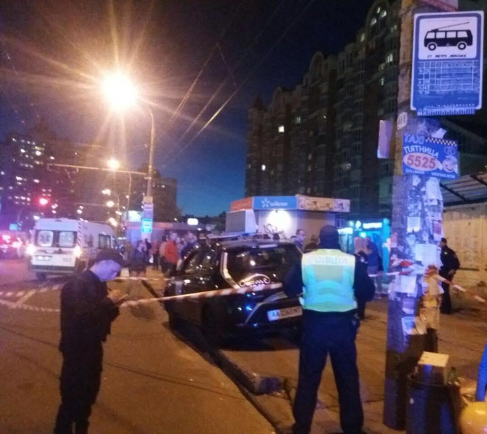 Поліцейські опитали свідків інциденту / фото поліція Києва, Facebook