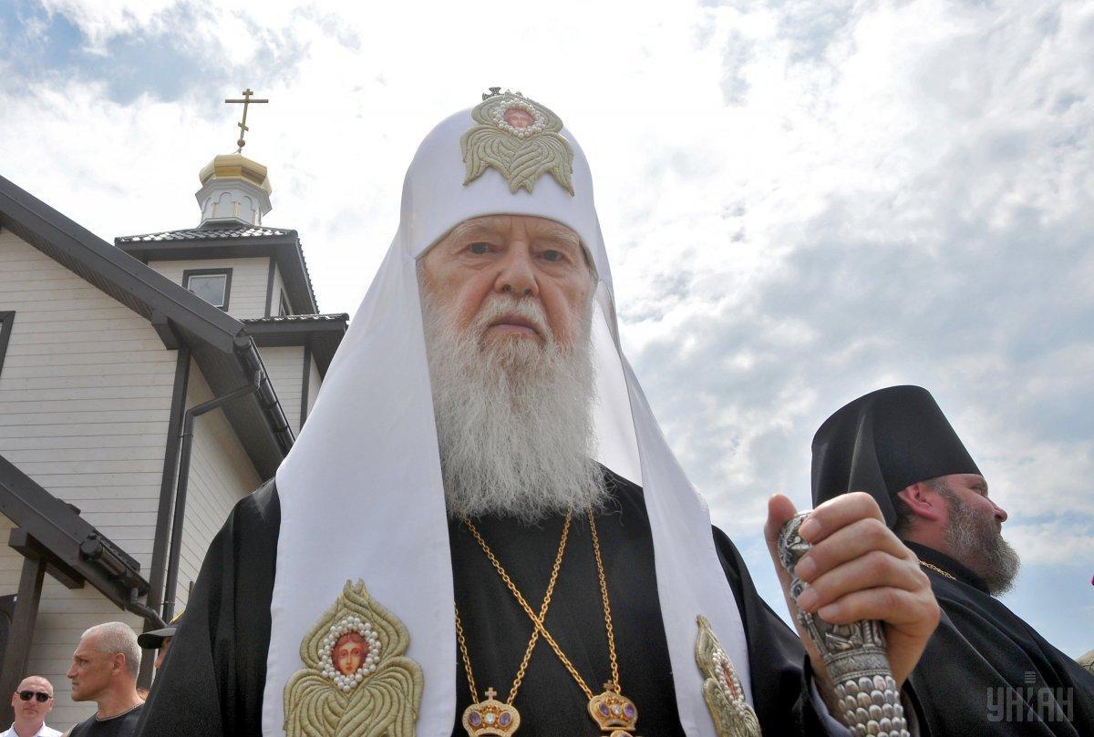 На його переконання, сьогодні всі антиукраїнські сили підключилися до знищення в Україні Київського патріархату / фото УНІАН