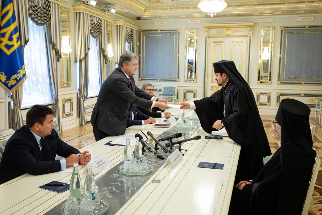 Патріарх Варфоломій написав Порошенку листа / president.gov.ua