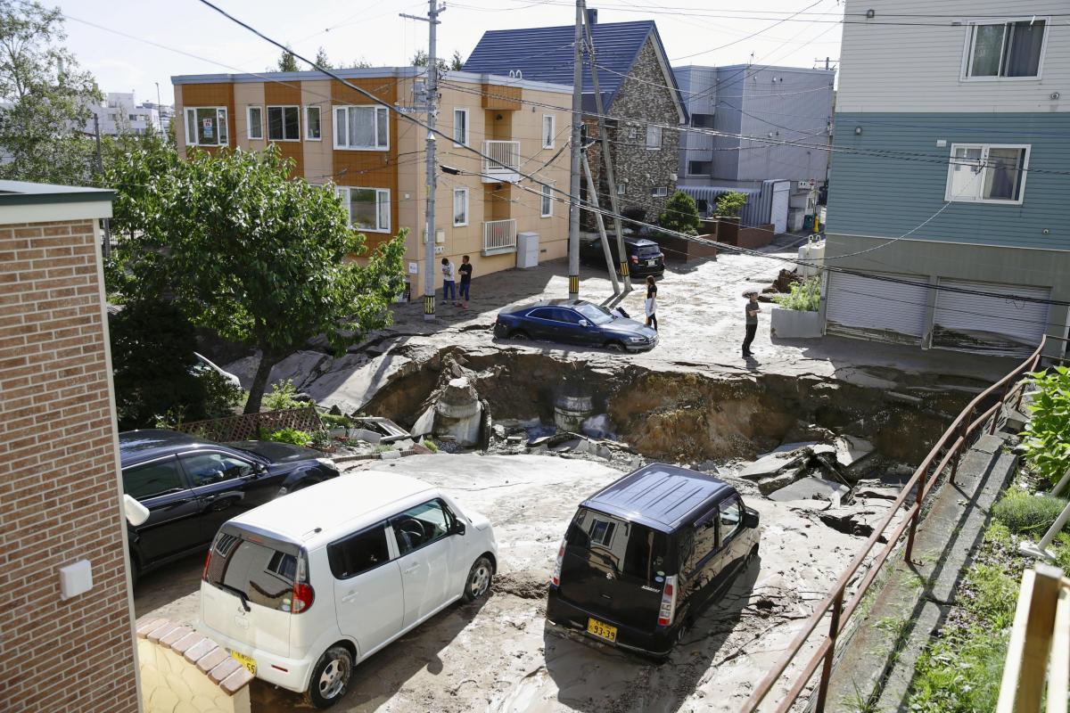 Саппоро отказался от проведения зимних Олимпийских игр после разрушительного землетрясения / REUTERS
