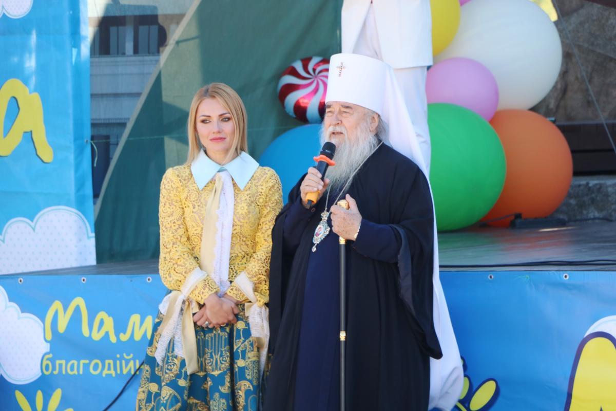 Митрополит Ириней благословил открытие детского фестиваля / news.church.ua