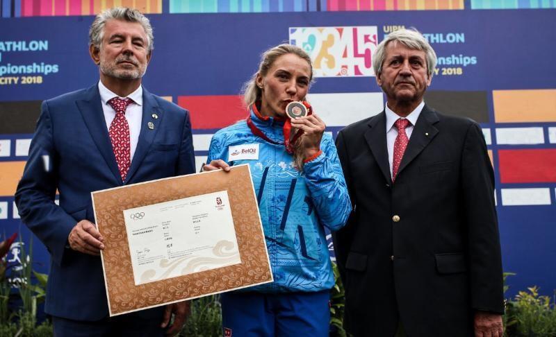 Прокопенко получила бронзовую медаль Олимпиады 10-летней давности / uipmworld.org