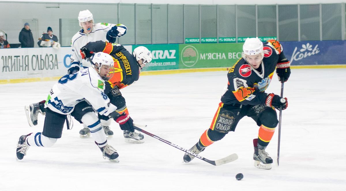 В среду и четверг состоятся матчи 2-го тура Украинской хоккейной лиги / uhl.ua