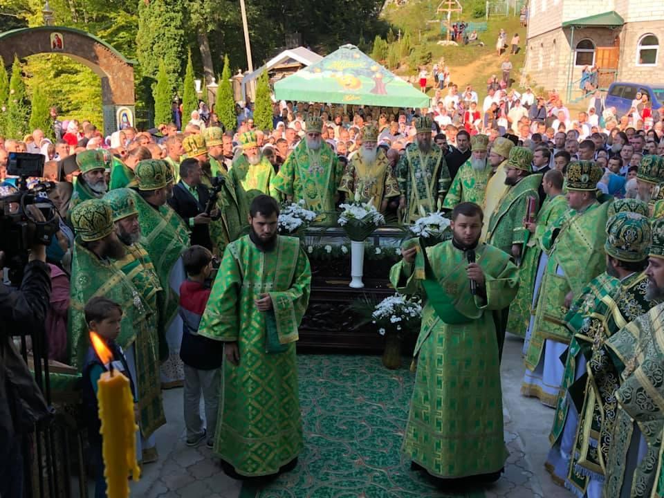 10-ая годовщина прославления преподобного Иова Угольского / фото Мукачевской епархии