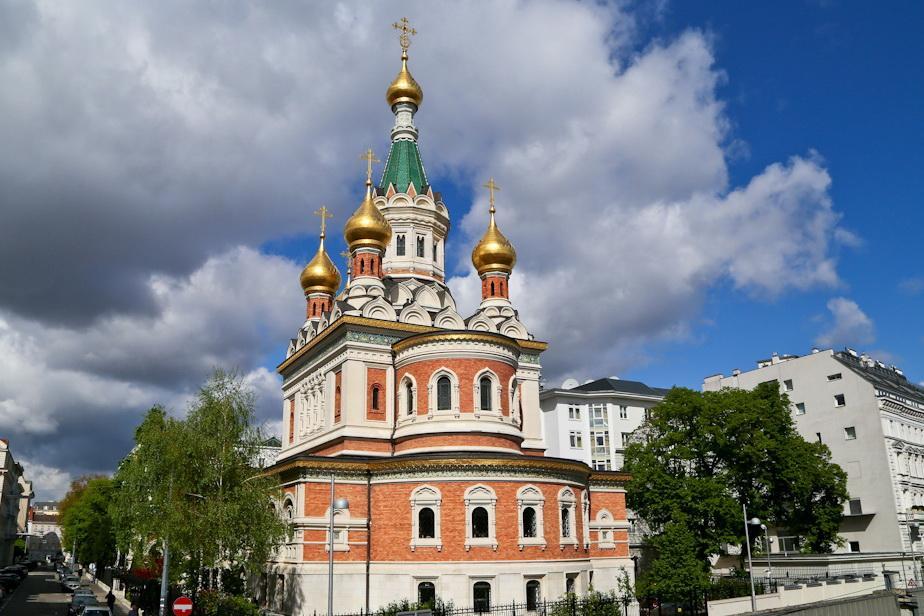 Свято-Николаевский кафедральный собор в Вене / livejournal.com