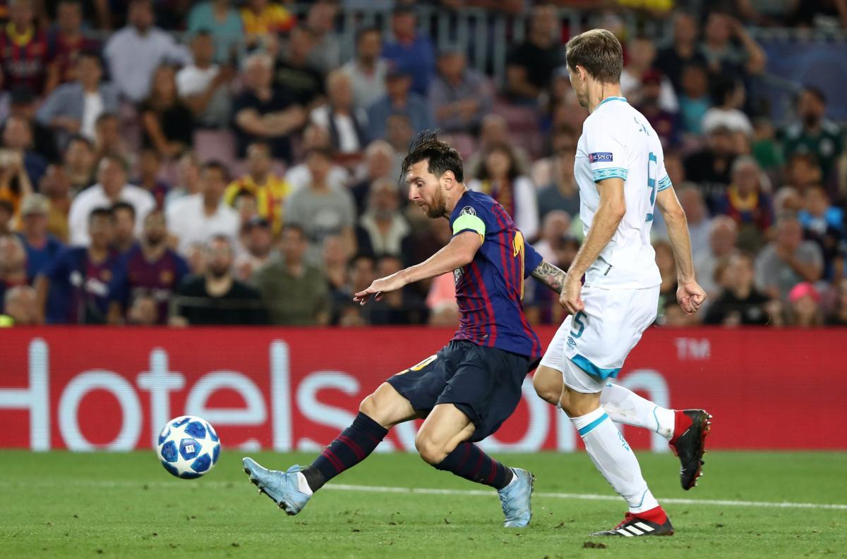 """Мессі став головним героєм першого матчу """"Барселони"""" у новій Лізі чемпіонів / Reuters"""