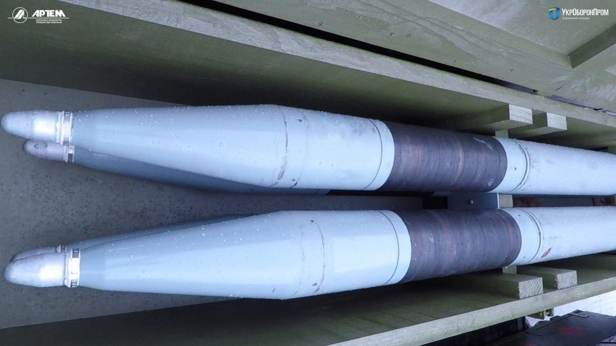 """Ракеты РС-80 """"Оскол"""" были испытаны на всех режимах полета / фото """"Укроборонпром"""""""