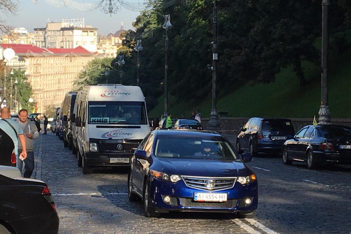 """В полиции назвали число """"евроблях"""", собравшихся под Кабмином / """"Информатор"""""""