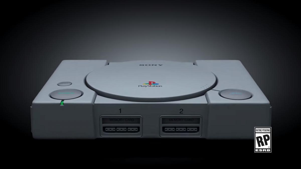 Приставка будет выполнена в стиле первой Sony PlayStation 1994 года выпуска / скрипшот