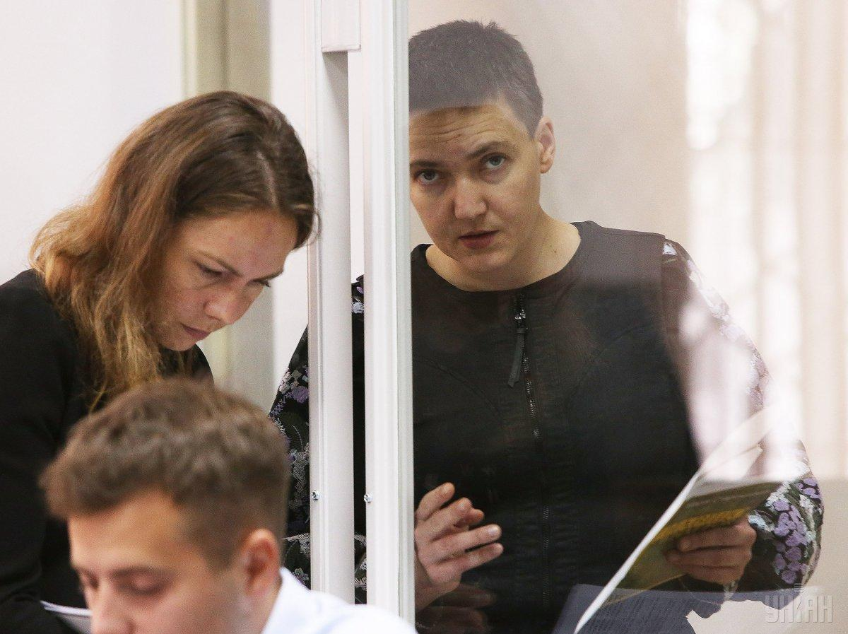 15 квітня Броварський міськрайонний суд звільнив Савченко і Рубана з-під варти / УНІАН