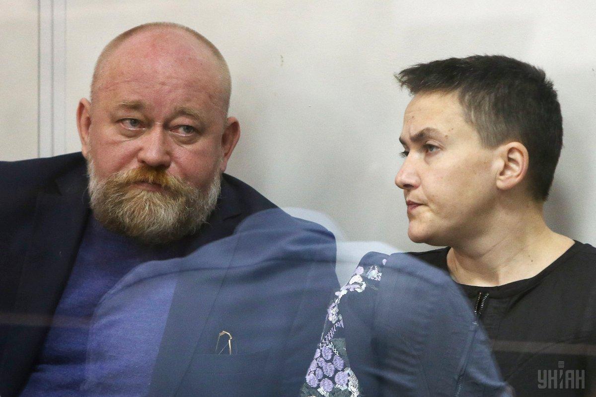 Броварской городской райсуд освободил из-под стражи прямо в зале судаСавченко и Рубана УНИАН
