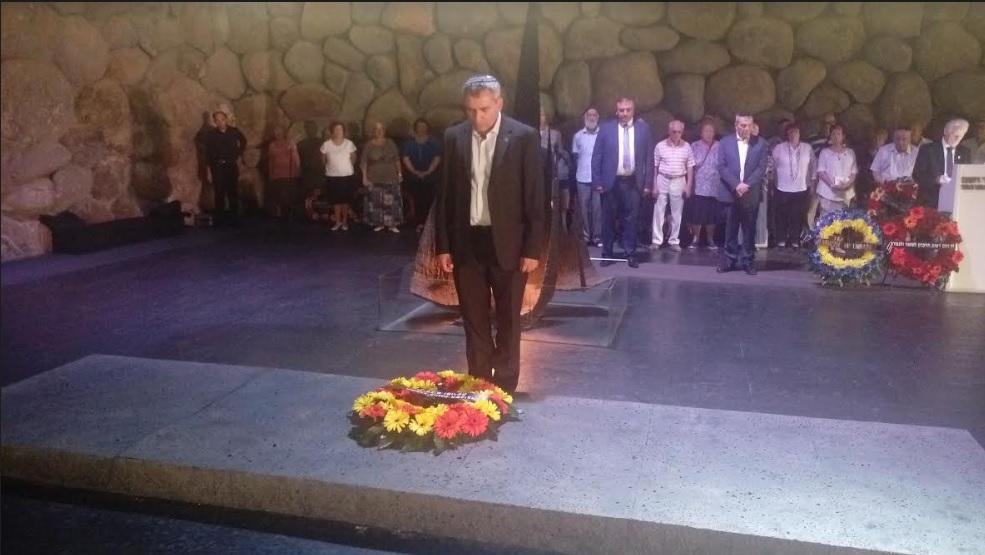 В Иерусалиме почтили память евреев, убитых в Бабьем Яру / evreiskiy.kiev.ua