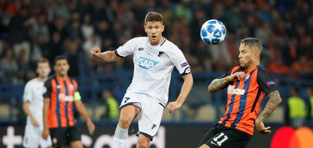 Шахтер и Хоффенхайм сыграли вничью в матче Лиги чемпионов / Reuters