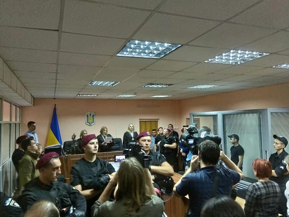 Суд вынес приговор военному за убийство мужчины в Киеве / фото facebook.com/c14.news.reserve