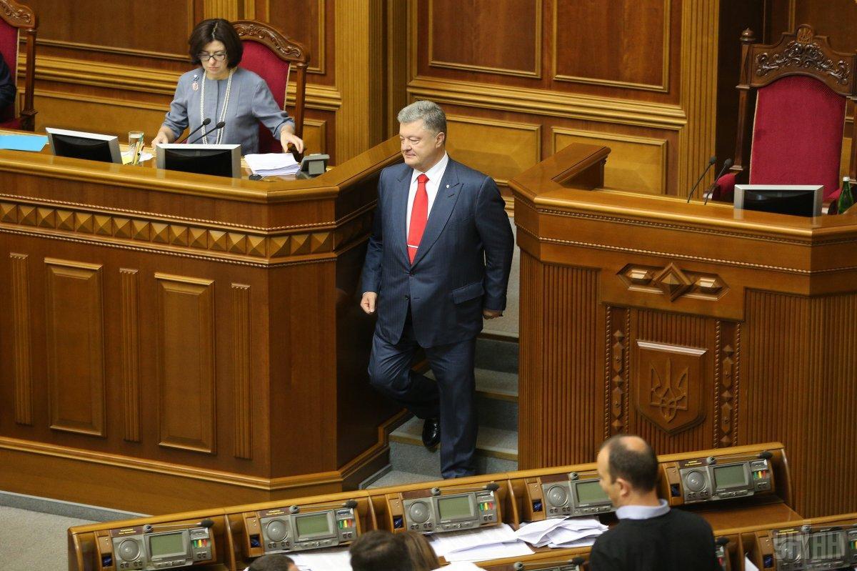 Порошенко не знает, когда именно примут томос и когда его привезут в Киев / УНИАН