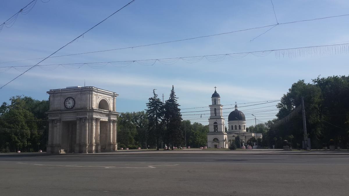Площадь великого национального собрания, где проводится фестиваль / Фото Марина Григоренко