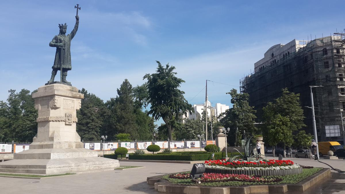 Памятник Штефану чел Маре / Фото Марина Григоренко