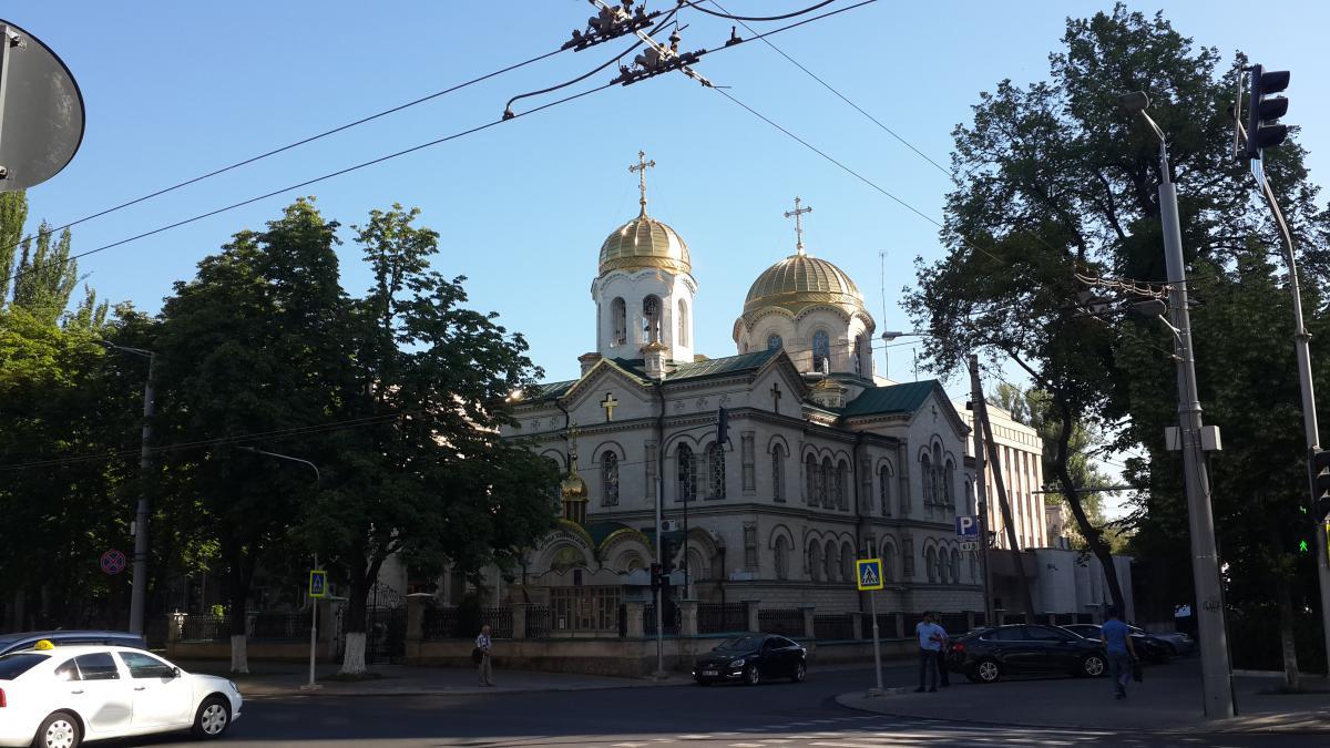 Собор ортодоксальной православной церкви / Фото Марина Григоренко