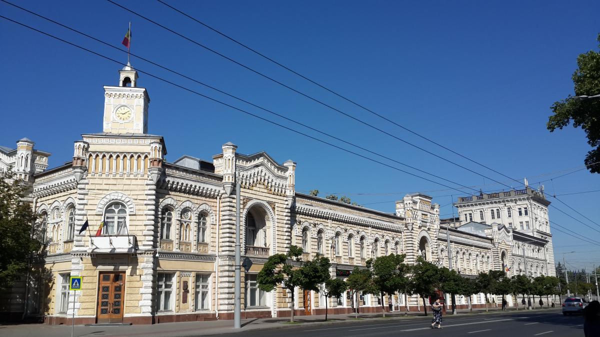 Здание Примэрии Кишинева - пожалуй, самое красивое в городе / Фото Марина Григоренко