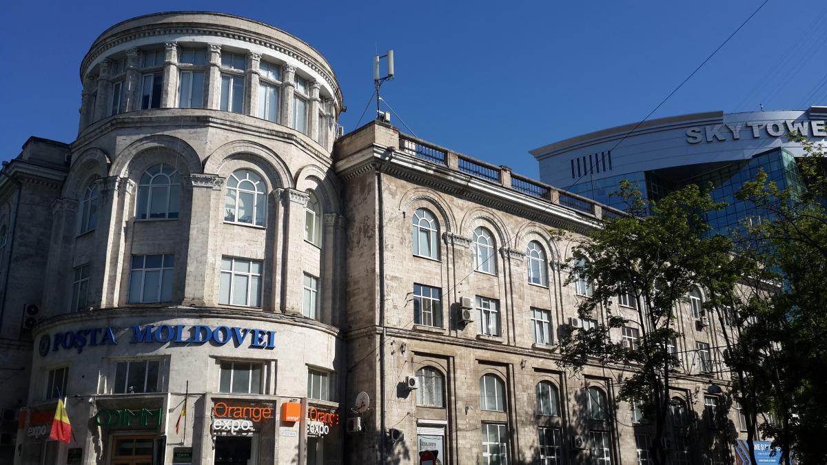 Здание Центрального почтового отделения / Фото Марина Григоренко