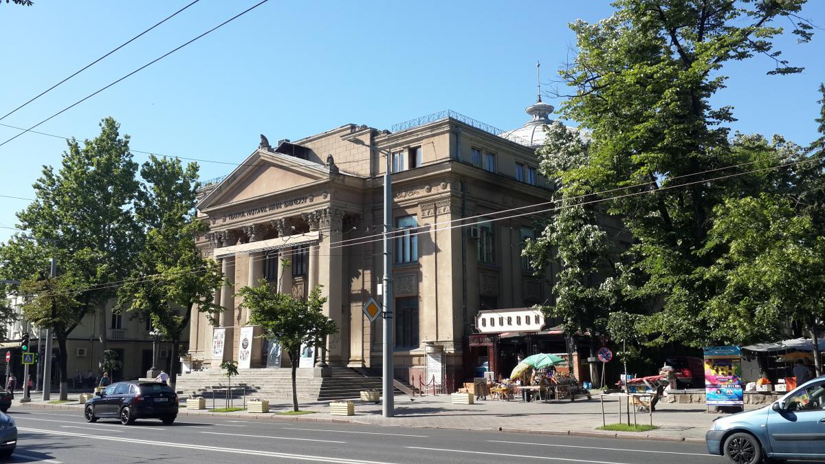 Национальный театр имени Михая Эминеску / Фото Марина Григоренко