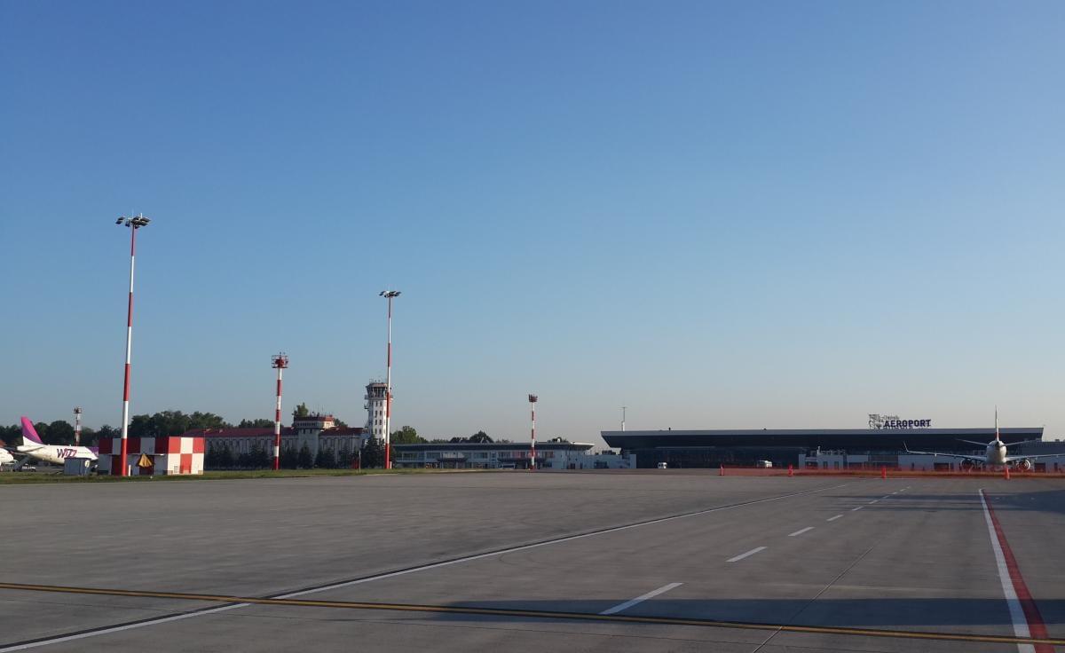 Аэропорт Кишинева довольно небольшой, но добираться удобно / Фото Марина Григоренко