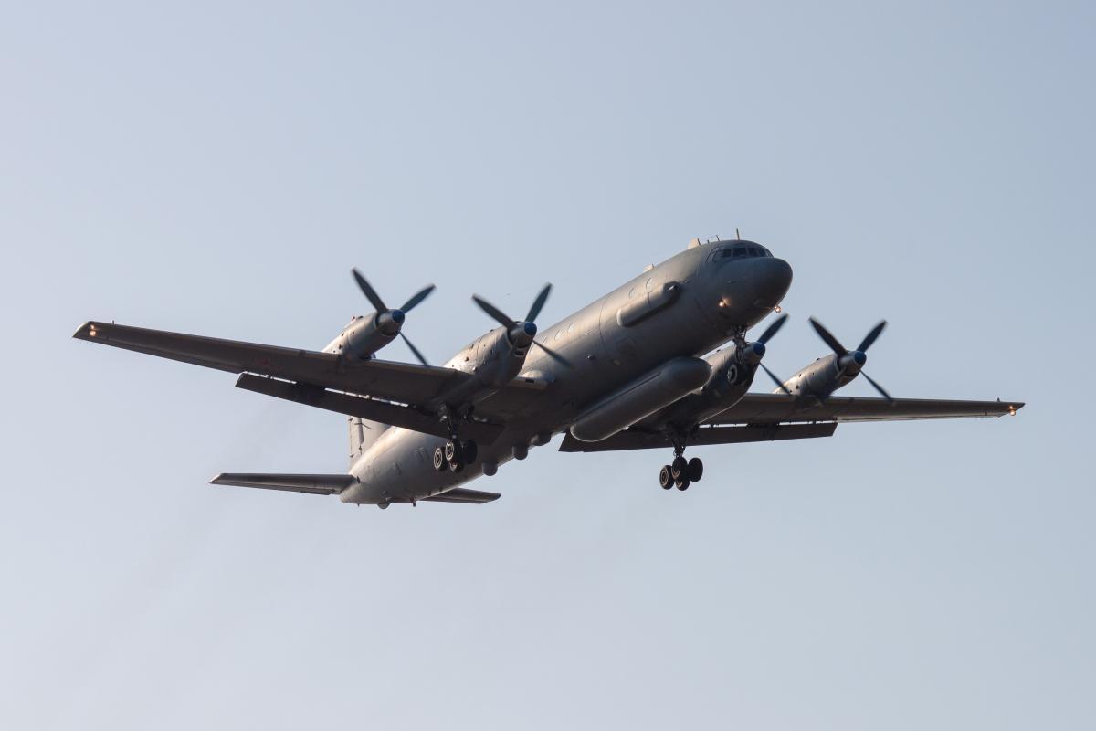 Самолет Ил-20, иллюстрация / REUTERS