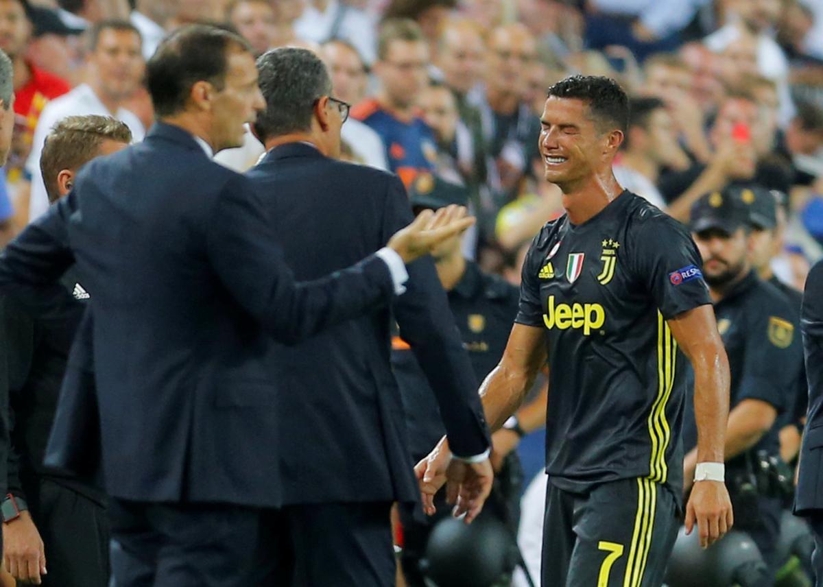 Роналду не зміг стримати емоції / REUTERS