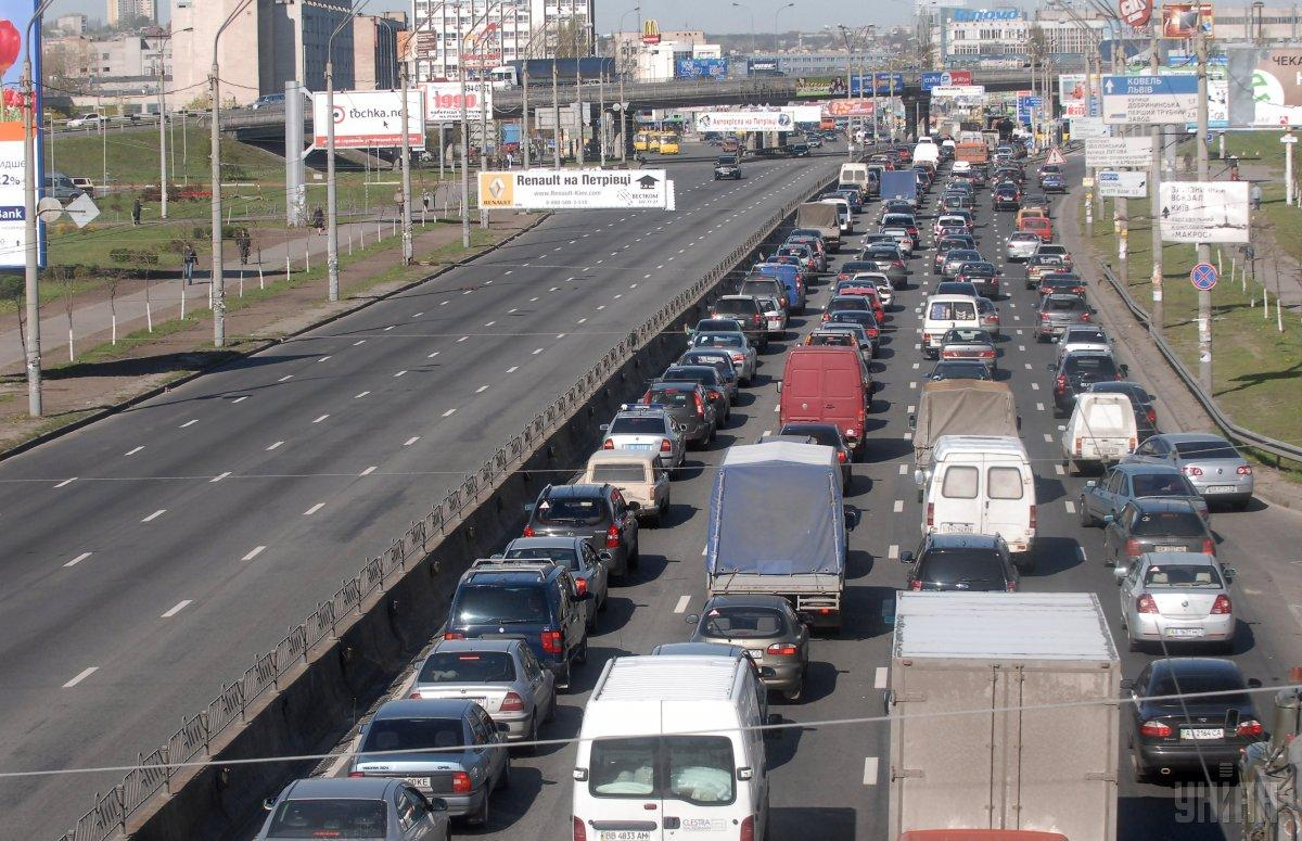 В Киеве с 14 июля ограничат движение на проспекте Бандеры / фото УНИАН