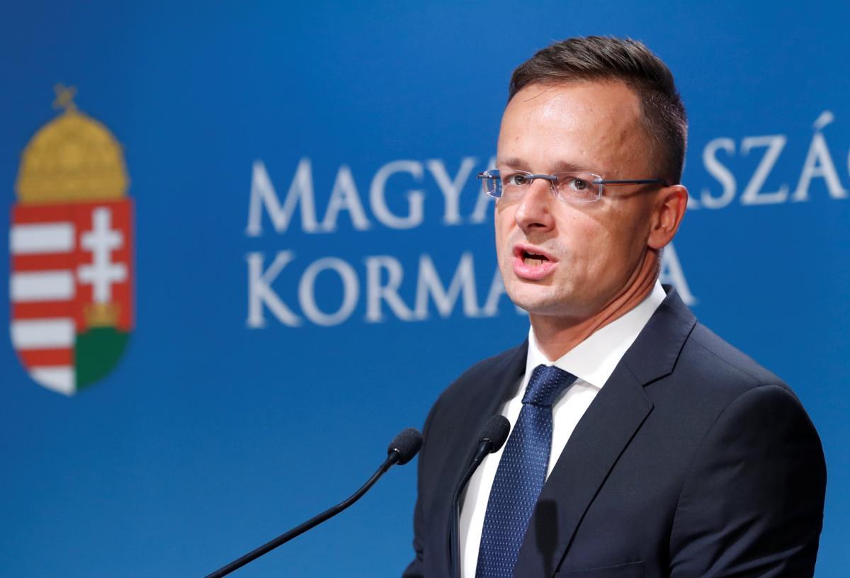 Втручання Угорщини у вибори - історія з видвореним Грежі отримала продовження / Петер Сійярто / REUTERS