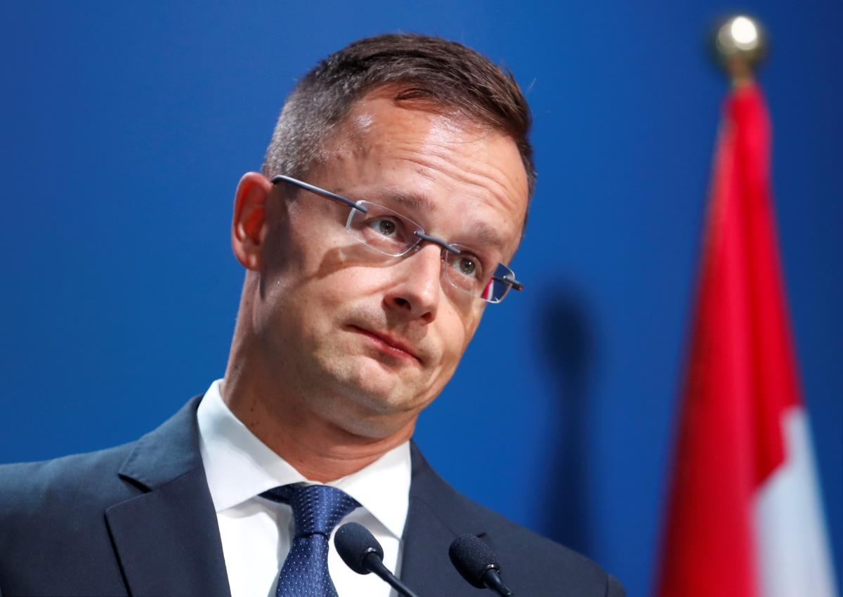 Kyiv awaits Szijjártó's visit late in Jan / REUTERS