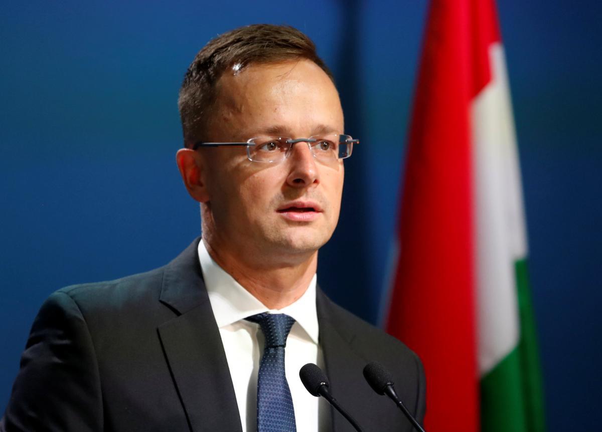 """""""Газпром"""" постачатиме в Угорщину 4,5 млрд кубометрів газу на рік / Петер Сійярто / фото REUTERS"""