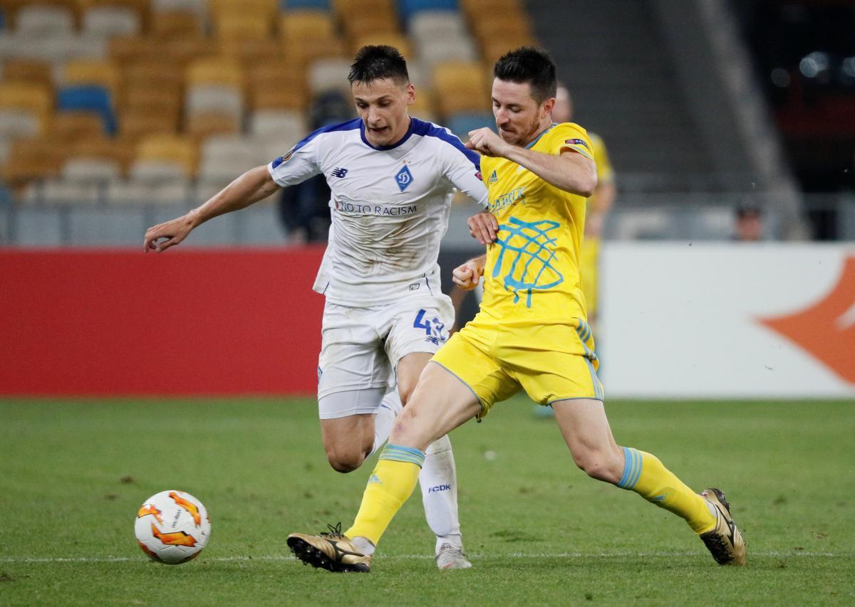 Динамо не смогло обыграть Астану в матче Лиги Европы / Reuters