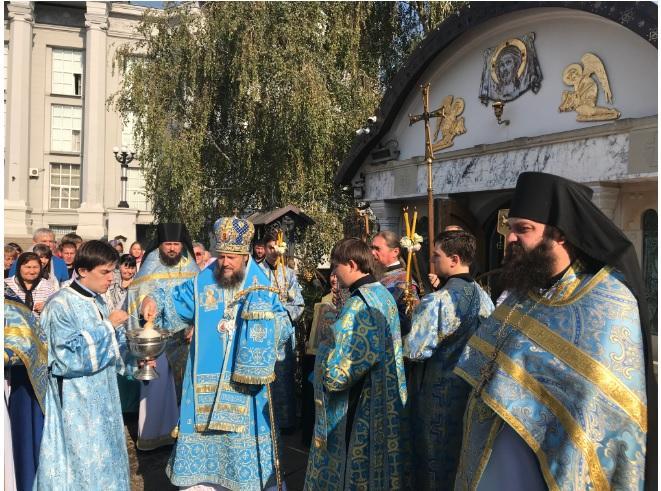 Престольне свято у Десятинному монастирі / desyatynniy.org