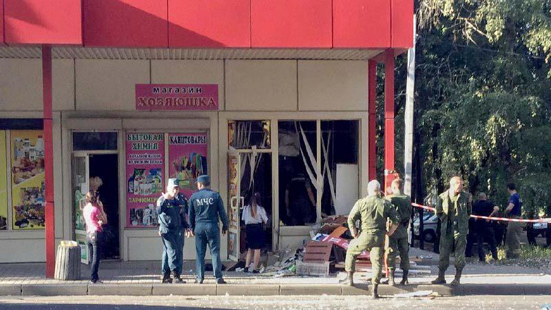 Сейчас на месте работает местная полиция и спасатели / СМИ сепаратистов