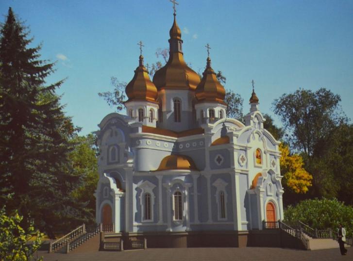 В Кропивницкомпостроят собор УПЦ КП высотой 33 метра / kr-rada.gov.ua