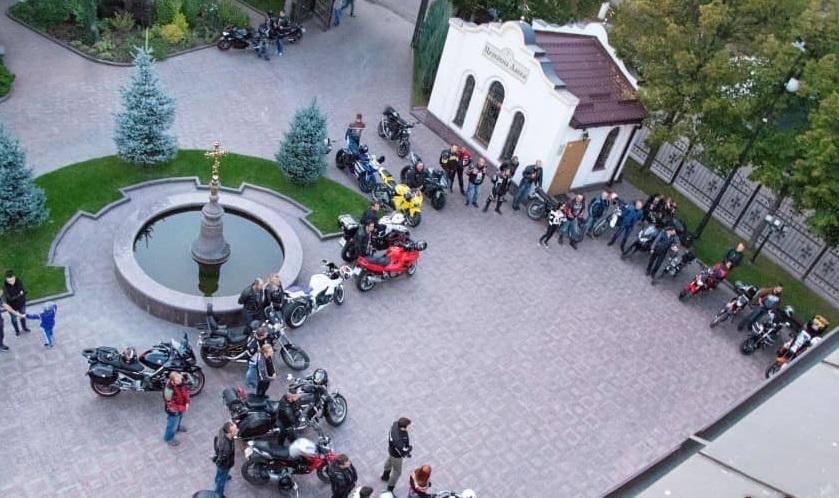 В Кропивницком прошел молебен для байкеров / orthodox-kr.org.ua/ Фото: Dozor